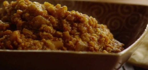 Curry Recipe-How to Make Red Lentil Curry