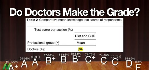 Do doctors make the grade?