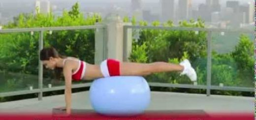 FITNESS  Best Swiss Ball Exercises For The Beginners