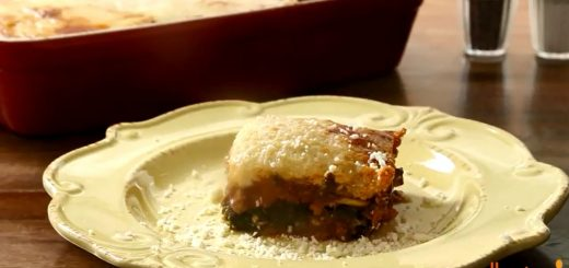 Gluten-Free Recipes – How to Make No Noodle Zucchini Lasagna