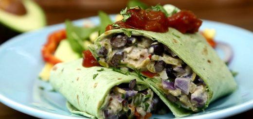 Mexican Recipes – How to Make Black Bean Burritos
