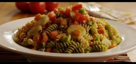 Pasta Recipe – How to Make Veggie Pasta Salad