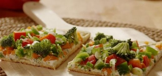 Pizza Recipe – How to Make Veggie Pizza Squares