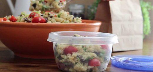 Salad Recipe – How to Make Zesty Quinoa Salad