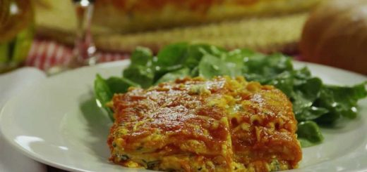 Spinach Lasagna Recipe – How to Make Fresh Spinach Lasagna
