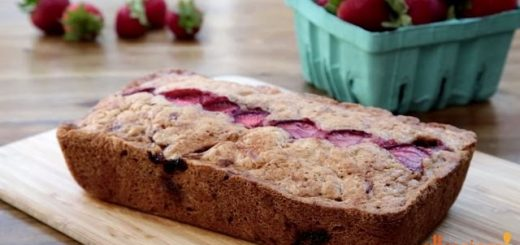 Strawberry Recipes – How to Make Strawberry Bread