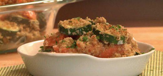 Vegetarian Recipe – Carrot Zucchini Vegetable Casserole