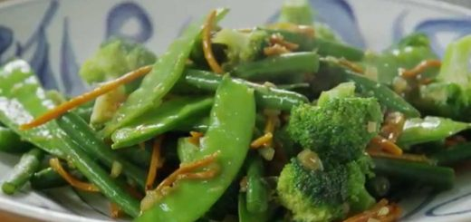 Vegetarian Recipes – How to Make Ginger Veggie Stir Fry