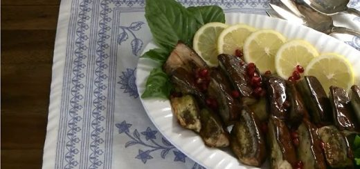 Vegetarian Recipes – How to Make Roasted Eggplant