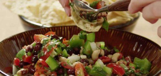 Vegetarian Recipes – How to Make Texas Caviar