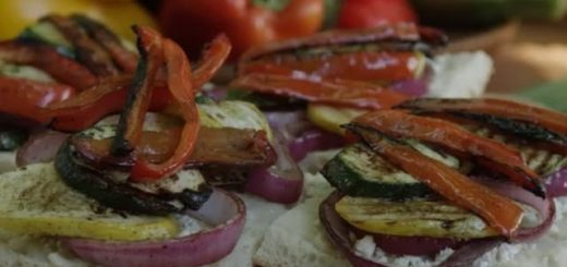 Veggie Sandwich Recipe – How to Make Grilled Veggie Sandwiches