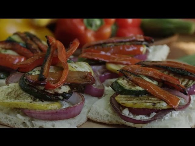 Veggie Sandwich Recipe - How to Make Grilled Veggie ...