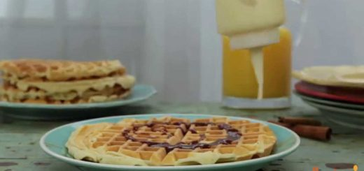 Waffle Recipes – How to Make Cinnamon Roll Waffles