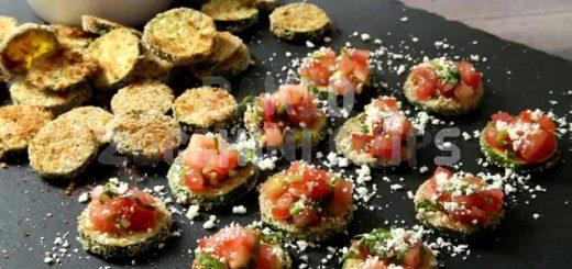 Zucchini Recipes – How to Make Zucchini Chips